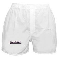 Herbalist Classic Job Design Boxer Shorts