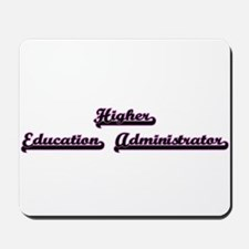 Higher Education Administrator Classic J Mousepad