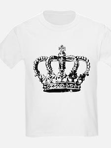 Black Crown Kids T-Shirt