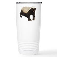 Unique Honey badger Stainless Steel Travel Mug