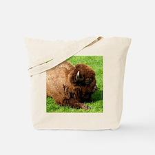 Northwest Buffalo Tote Bag