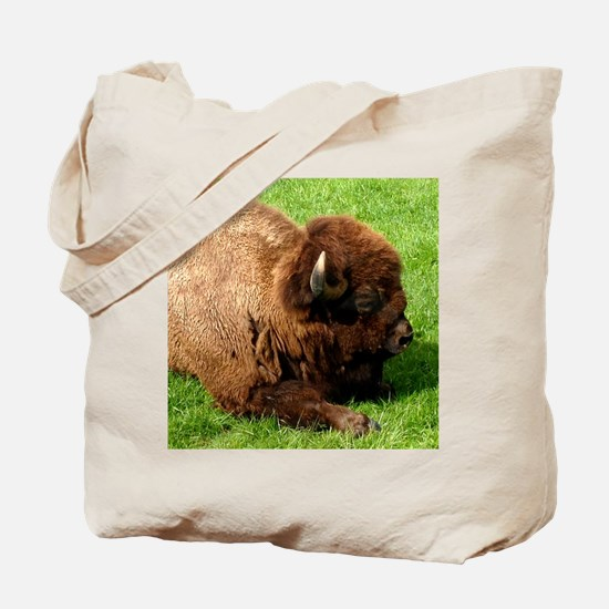 Northwest Buffalo Tote Bag