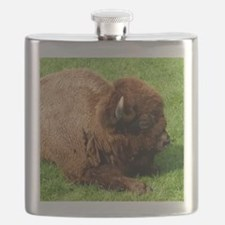Northwest Buffalo Flask