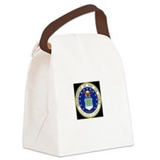 air force Canvas Lunch Bag