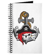 Pirate Skull Anchor Journal