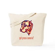 Perro de Presa Canario Tote Bag