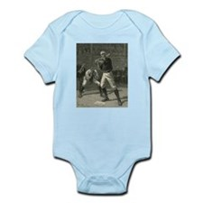 Vintage Sports Baseball Game Body Suit