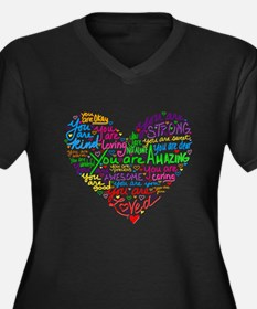 You Are Loved Plus Size T-Shirt