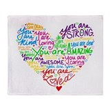 Affirmation Fleece Blankets