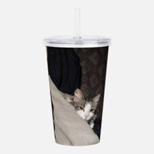 Flicker In Bed Acrylic Double-wall Tumbler