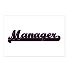 Manager Classic Job Desig Postcards (Package of 8)
