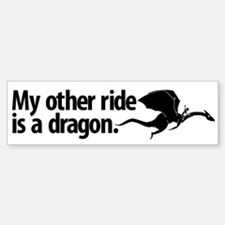 Dragon Ride Bumper Bumper Bumper Sticker