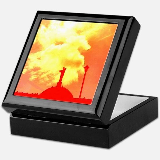 Ethereal Church Orange Charlotte's Fa Keepsake Box