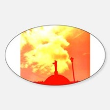 Ethereal Church Orange Charlotte's Fave Decal