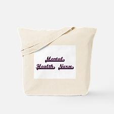 Mental Health Nurse Classic Job Design Tote Bag