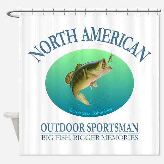 NASM (bass) Shower Curtain