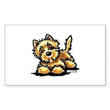 Cute I love my wheaten terrier Decal