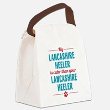 My Lancashire Heeler Canvas Lunch Bag