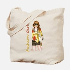 Best Fashion Girl Tote Bag