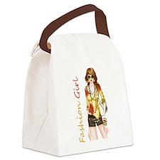 Best Fashion Girl Canvas Lunch Bag