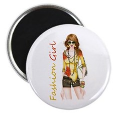 Best Fashion Girl Magnets