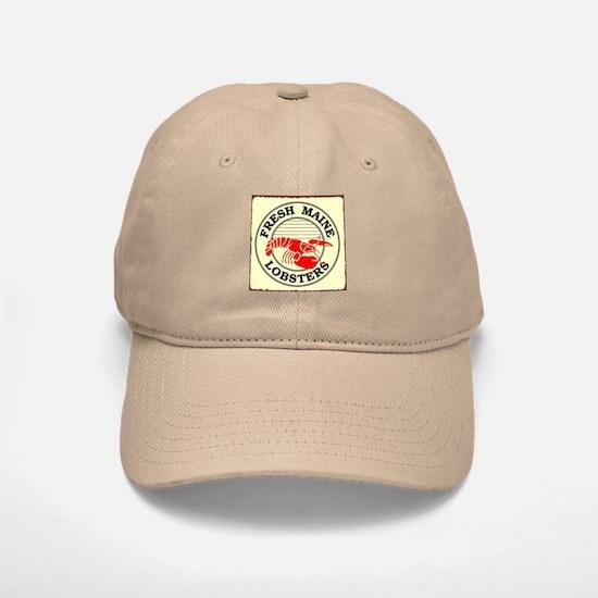 Fresh Maine Lobsters Baseball Baseball Cap