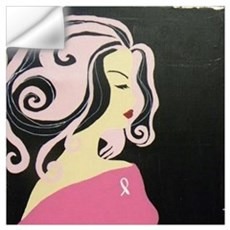 Think Pink Wall Decal