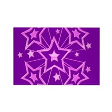 Pink and Purple Stars Magnets