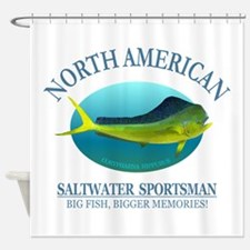 NASM (Mahi Mahi) Shower Curtain