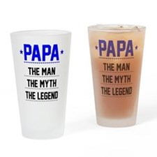 Papa - The Man, The Myth, The Legend Drinking Glas
