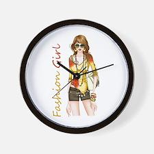 Best Fashion Girl Wall Clock
