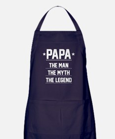 Papa - The Man, The Myth, The Legend Apron (dark)
