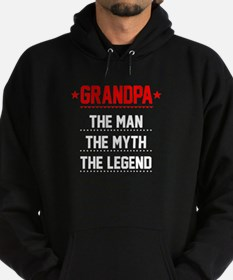 Grandpa - The Man, The Myth, The Legend Hoodie