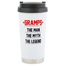 Gramps - The Man, The Myth, The Legend Travel Mug