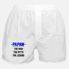 Papaw - The Man, The Myth, The Legend Boxer Shorts