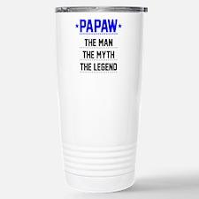 Papaw - The Man, The Myth, The Legend Travel Mug