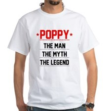 Poppy - The Man, The Myth, The Legend T-Shirt