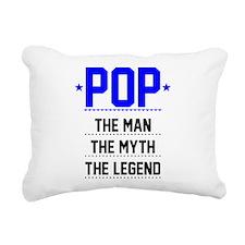 Pop - The Man, The Myth, The Legend Rectangular Ca