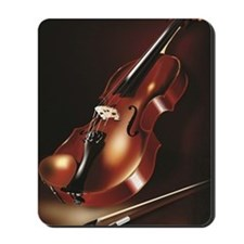 A Red Violin Mousepad