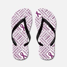 FAITH, HOPE, LOVE Flip Flops