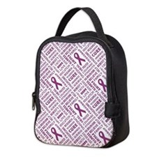 FAITH, HOPE, LOVE Neoprene Lunch Bag