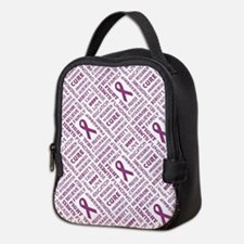 FAITH, HOPE, LOVE Neoprene Lunch Bag