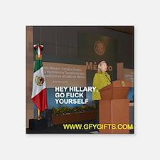 GFY Hillary Clinton Sticker