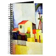 August Macke Bright House Journal