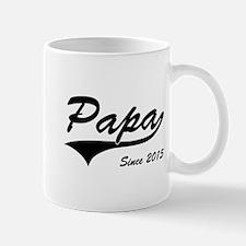 Papa Since 2015 Mugs