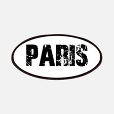 NEW YORK PARIS BLACK VINTAGE Patch