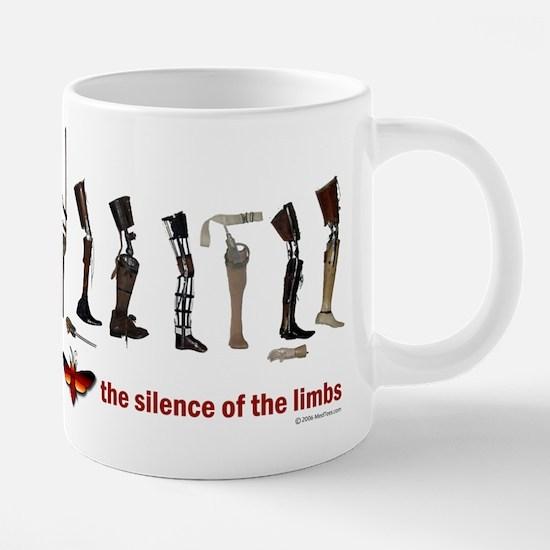 Silence of the Limbs Mugs