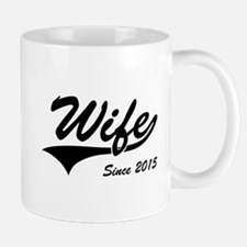 Wife Since 2015 Mugs
