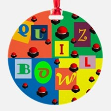 Quiz Bowl Ornament