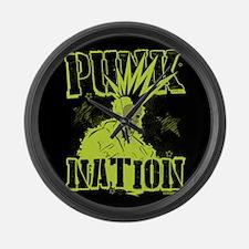 Punknation Large Wall Clock